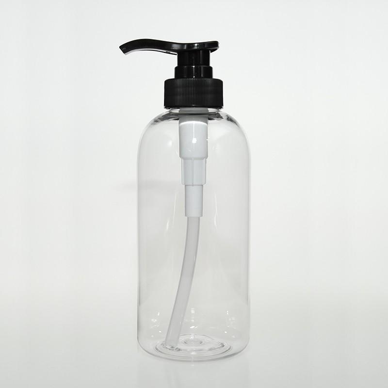 圓肩胖塑膠瓶500ml
