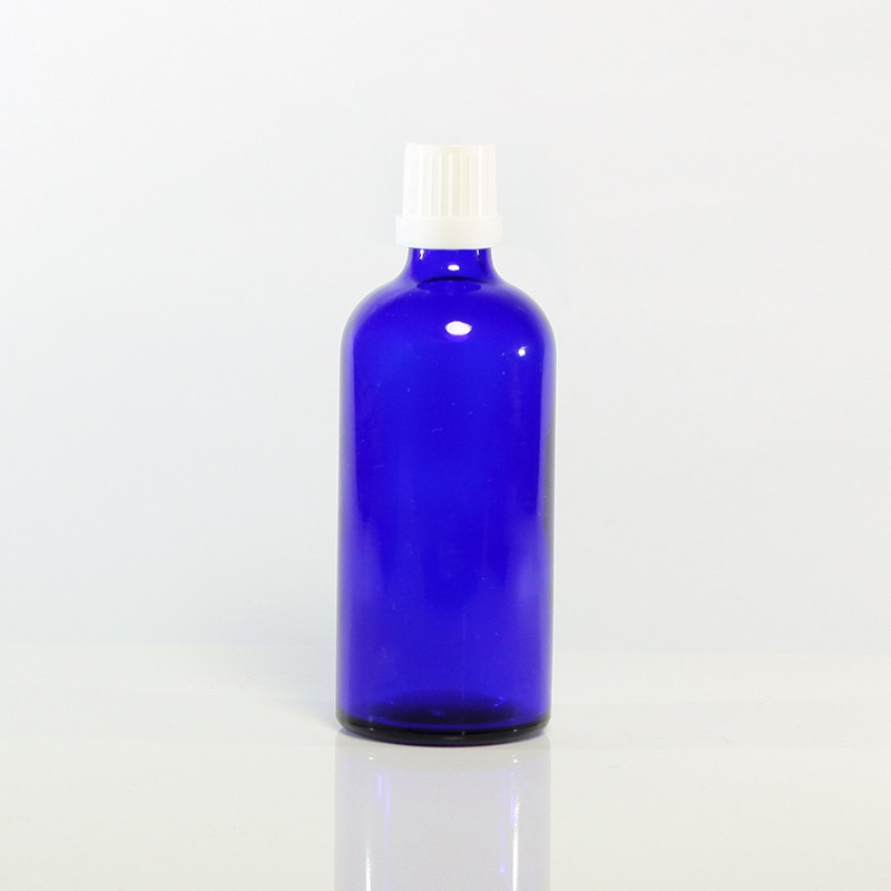 精油瓶(藍)100ml