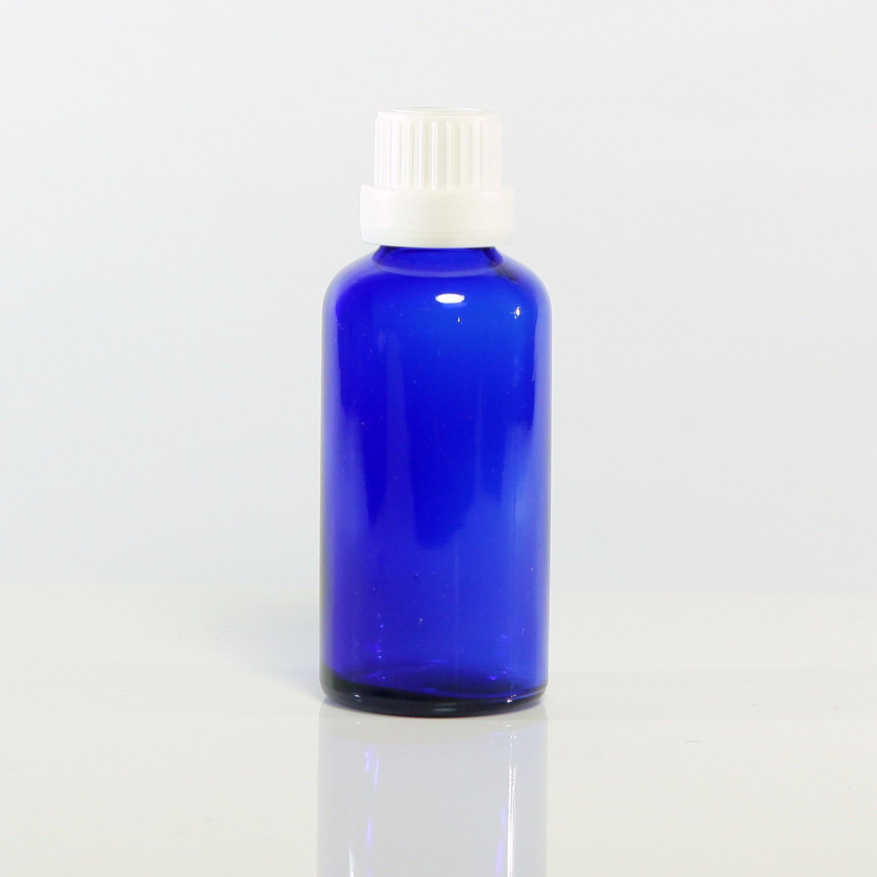 進口精油瓶(藍)50ml