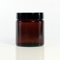 茶色玻璃霜罐120g